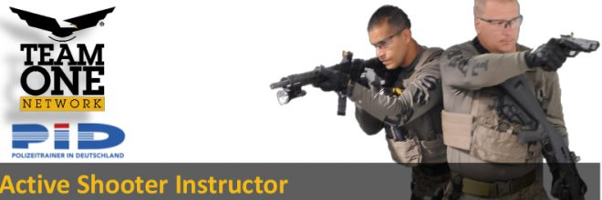 Active Shooter Instructor Course 16./17. August 2018 in Wiesbaden